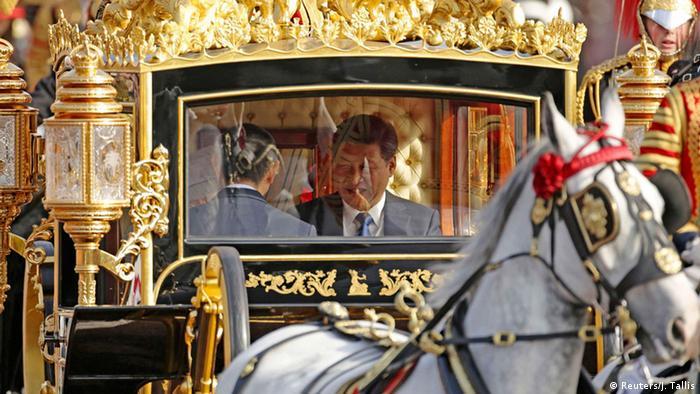 Großbritannien, Xi Jinping auf Staatsbesuch
