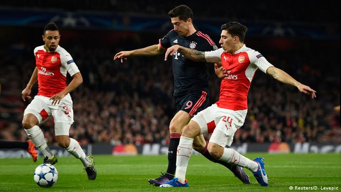 Champions League Arsenal vs Bayern