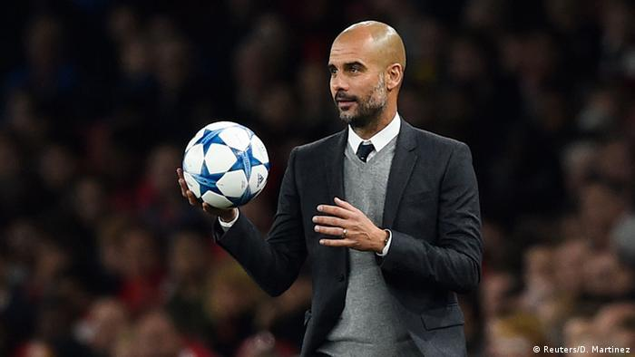 Champions League Arsenal vs Bayern, Pep Guardiola