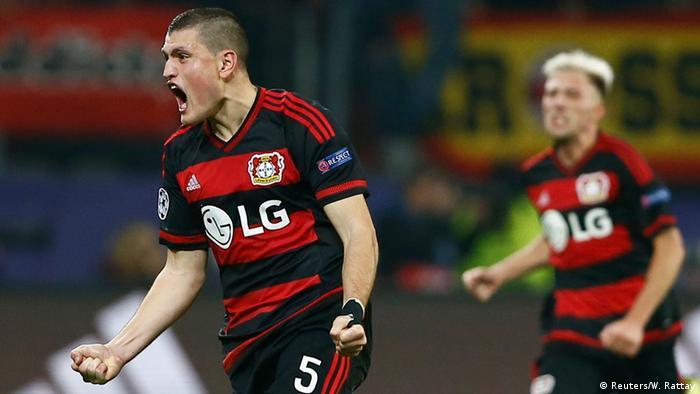 Deutschland, Champions League Bayer Leverkusen - AS Rom