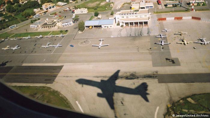 Griechenland Flughafen Korfu