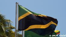 Tanzanian flag at ZEC headquaters, Maisara Zanzibar Copyright: DW/Mohammed Khelef, Sansibar