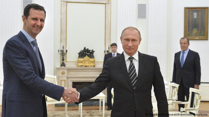الأسد التقى بوتين في موسكو وبحث معه العمليات العسكرية الروسية