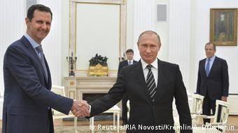 В октябре 2015 года Владимир Путин принял президента Сирии Асада в Кремле