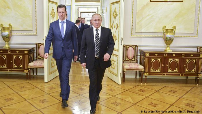 Russland Syrien Assad bei Putin (Reuters/RIA Novosti/Kremlin/A. Druzhinin)