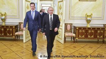 Russland Syrien Assad bei Putin