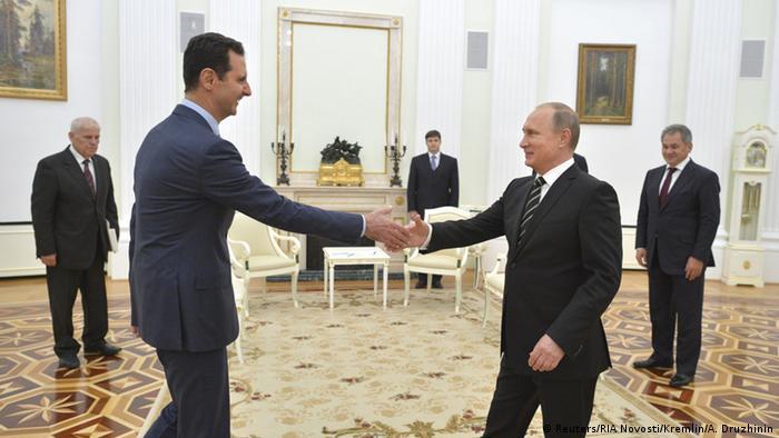 Syrischer Staatschef Baschar al-Assad und russischer Präsident Wladimir Putin (Foto: Reuters/RIA Novosti/Kremlin/A. Druzhinin)