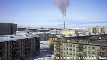 VORKUTA - Vorkuta, a coal mining town in the Komi Republic, Russia, situated just north of the Arctic circle in the Pechora coal basin at the Usa river. ANP COPYRIGHT RONALD NAAR picture-alliance/dpa/R. Naar