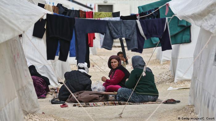 Allein 35.000 Flüchtlinge in Suruc, dem größten Lager der Türkei (foto: Getty images)