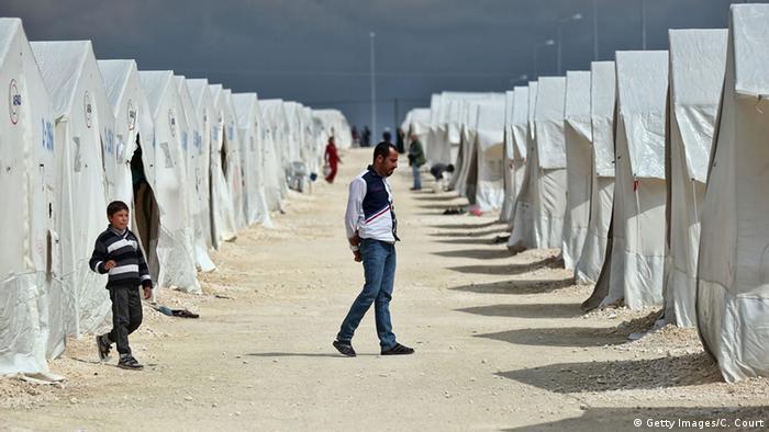 Türkei Flüchtlingslager Suruc