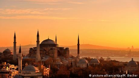 Hagia Sophia in Istanbul, Turkey, Copyright: picture-alliance/dpa/M. Becker
