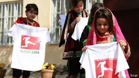 Afghanistan Deutschland Bau neuer Sporthallen in Kabul