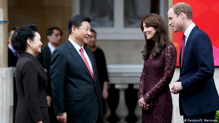 Vereinigtes Königreich Staatsbesuch von Chinas Präsident Xi Jinping