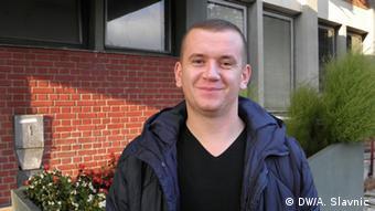Bosnien und Herzegowina Zeljko Jaksic Student in Banja Luka
