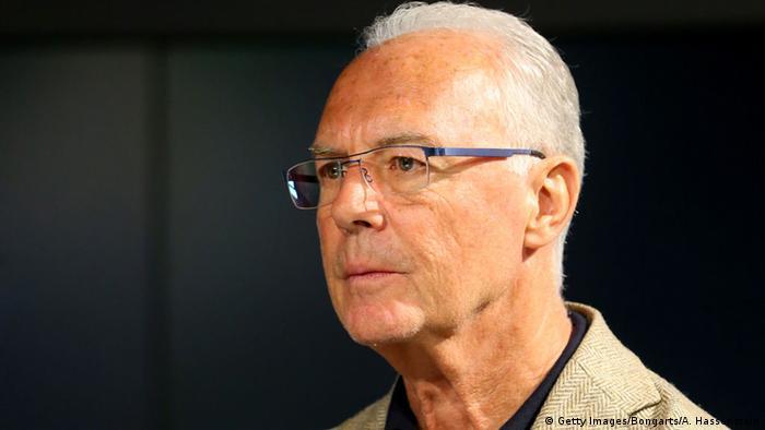 O ex-jogador alemão Franz Beckenbauer, um dos 11 cartolas investigados pela Fifa