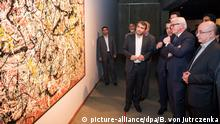 Iran Teheran Steinmeier im Tehran Museum of Contemporary Art