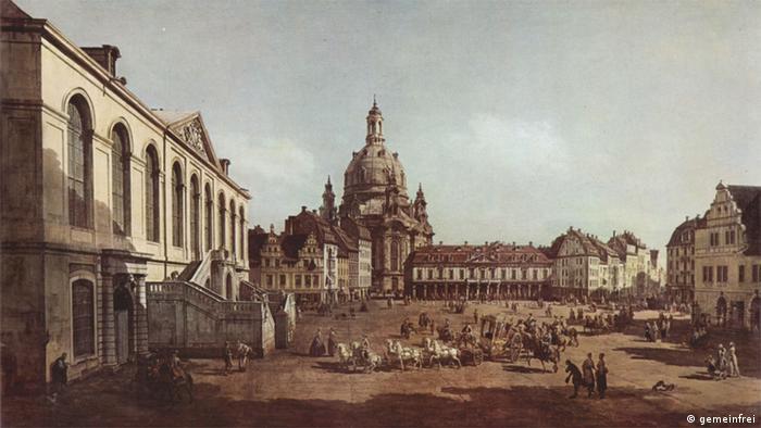 Gemälde Canaletto Ansicht von Dresden