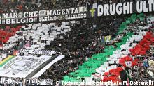 Juventus Supporters during the Serie A football match n.7 JUVENTUS - BOLOGNA on 04/10/15 at the Juventus Stadium in Turin, Italy. Copyright 2015 Matteo Bottanelli