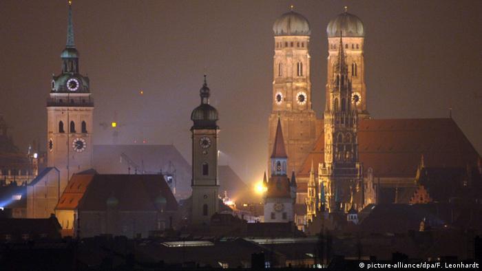 Ночной Мюнхен