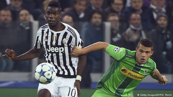 Champions League Juventus Turin Borussia Mönchengladbach