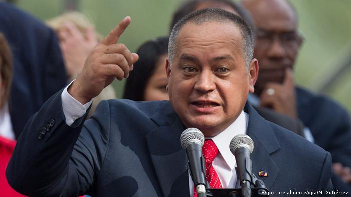 Parlamentspräsident Diosdado Cabello (picture-alliance/dpa/M. Gutiérrez)