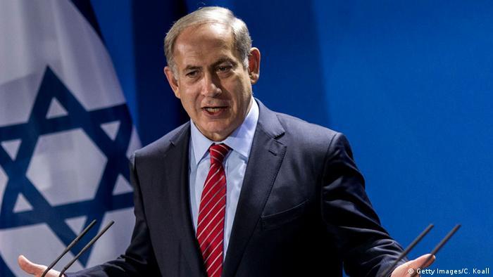 Deutschland Benjamin Netanjahu in Berlin