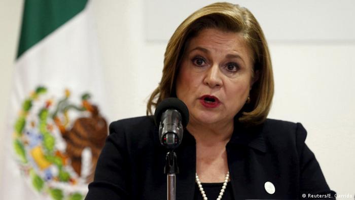 Mexiko Generalstaatsanwältin Arely Gómez