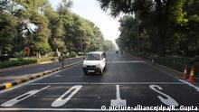 Indien Car-Free-Day in Neu Delhi
