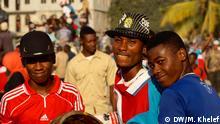 Sansibar Wahlen Jugendliche Anhänger CUF