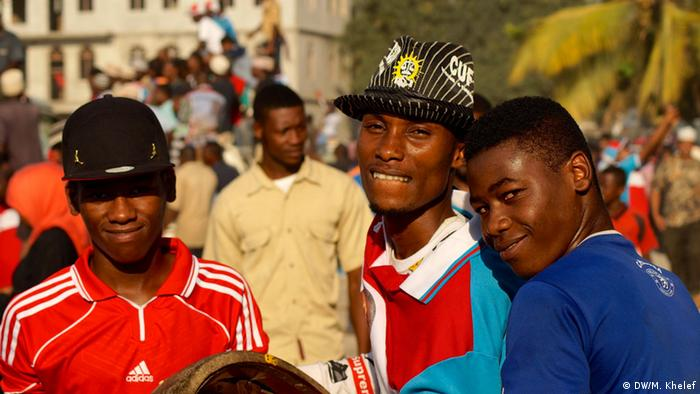 A group of African youths