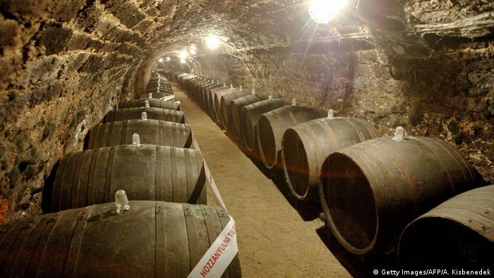 Europäische Weinanbaugebiete Slowakei Tokaj
