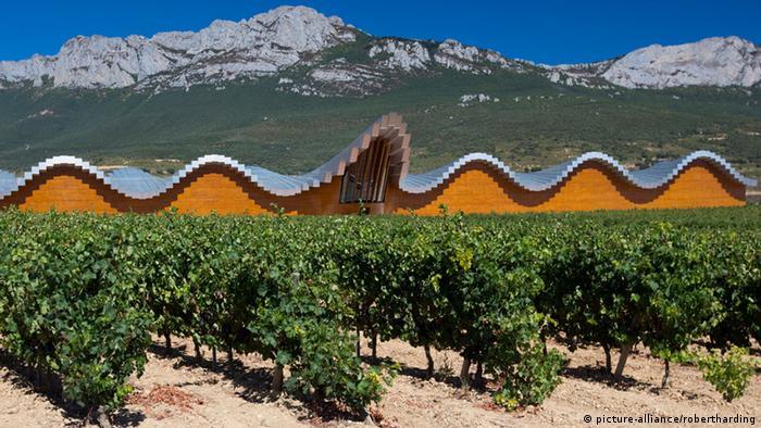 Europäische Weinanbaugebiete Rioja Spanien