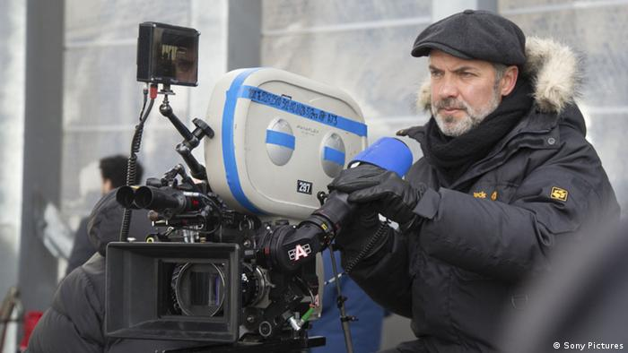Sam Mendes during the shooting of James Bond Spectre, Copyright: Sony Pictures