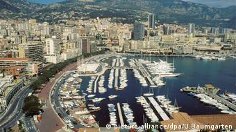 Monaco's yacht harbor (picture-alliance/dpa/U.Baumgarten)