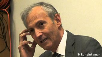 Iran Politikwissenschaftler Saeed Mahmoudi (Ranginkaman)