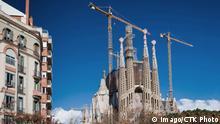 Antoni Gaudi s Sagrada Familia, Barcelona, Spain (CTKxPhoto/ZdenekxRyzner) CTKPhotoF201508260432601 PUBLICATIONxINxGERxSUIxAUTxONLY Imago/CTK Photo