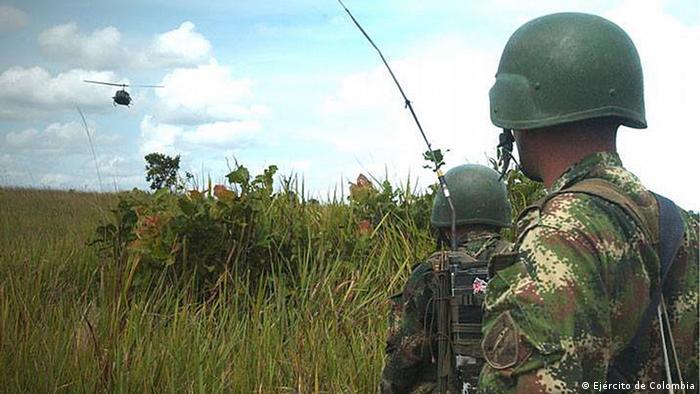 Kolumbien Guerilla (Ejército de Colombia)