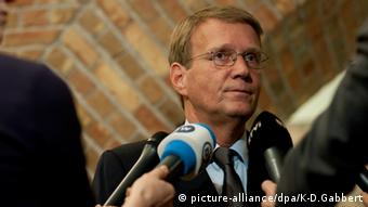 Сопредседатель координационного совета Петербургского диалога с германской стороны Рональд Пофалла