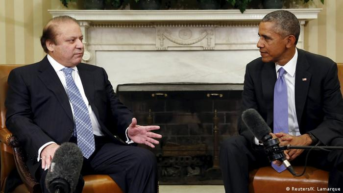 USA Washington Treffen Obama mit Nawaz Sharif (Reuters/K. Lamarque)