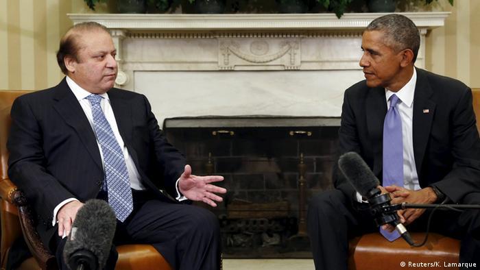 USA Washington Treffen Obama mit Nawaz Sharif
