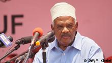 Tansania Präsidentschaftswahl Mzee Hassan Nassor Moyo