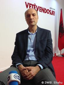 Kosovo Visar Ymeri (DW/B. Shehu)