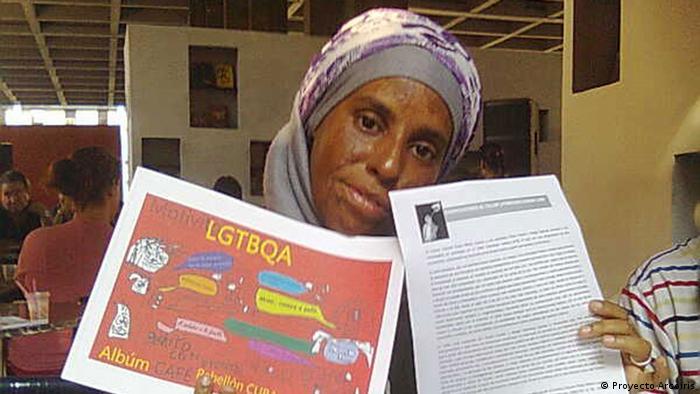 Projekt Proyecto Arcoiris der LGBT-Aktivistin Yasmín Silvia Portales