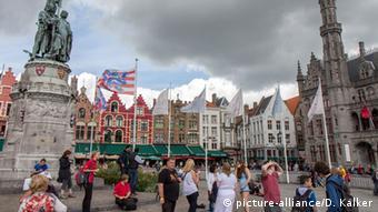 Belgien Grote Markt Brügge