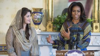 USA Treffen Maryam Nawaz mit Michelle Obama