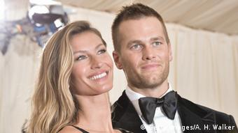 USA Gisele Bündchen und Tom Brady in New York (Getty Images/A. H. Walker)