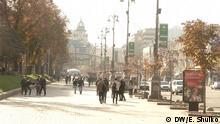 Ukraine Kommunalwahl Straßenszene in Kiew