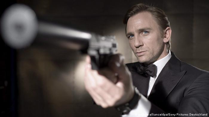 USA Schauspieler Daniel Craig als James Bond