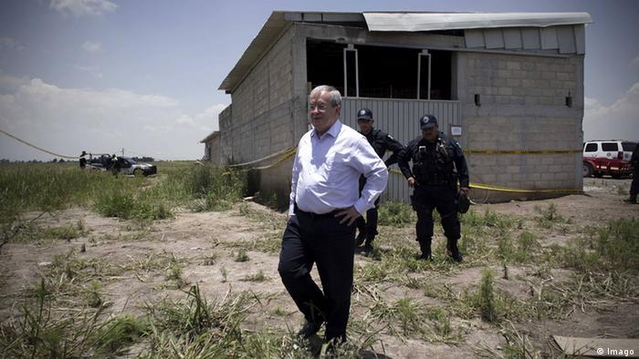 Suche nach Chef des Sinaloa-Kartells Joaquin Guzman Monte Alejandro Rubido Garcia