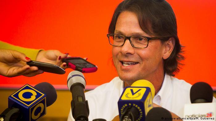 Venezuela Unternehmer Nahrungsmittelbranche Lorenzo Mendoza (picture-alliance/dpa/M. Gutierrez)